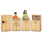 ThriftyKYDZ The Natural Birch Kitchen - 4 Piece Set