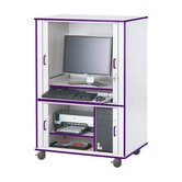 "Rainbow Accents Computer Cabinet - Rectangular (24"" x 33.5"")"
