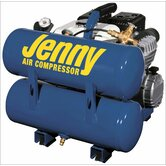 4 Gallon Tank 4 HP Vertical Hand Carry Portable Gas Air Compressor
