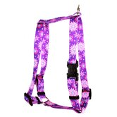 Purple Flowers Roman Harness