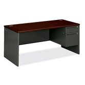 "38000 Series 29.5"" H x 66"" W Right Pedestal Office Desk Return"