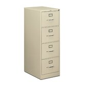 510 Series Four-Drawer Vertical Legal Filing Cabinet