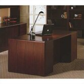 10700 Series 72&quot; W Double Pedestal Executive Desk