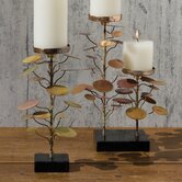 2-Lite Eucalyptus Candle Holder