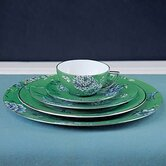 Chinoiserie Green Dinnerware Set