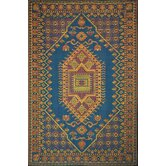 Oriental Turkish Aqua Rug