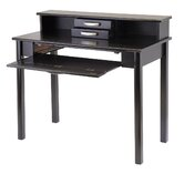 Liso Home Office Computer Desk with Hutch