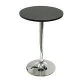 20&quot; Round Bistro Table with Chrome Leg