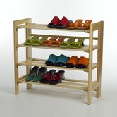 Basics 4 Tier Shoe Rack