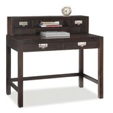 City Chic Student Desk and Hutch Combo with 2 Drawers on Desk