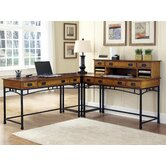 Modern Craftsman Corner &quot;L&quot; Desk