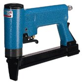 "Pneumatic Tacker 1/2"" Crown Upholstery Stapler Automatic w/ Long Magazine"