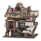 Old Time &quot;Wagon Wheel Restaurant&quot; Birdhouse