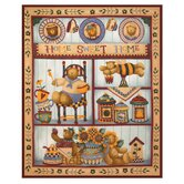 Country Bear Fleece Throw