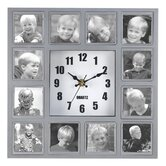 Familiar Faces Photo Clock