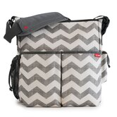 Duo On-the-Go Chevron Diaper Bag