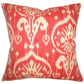 Yetta Ikat Cotton Pillow