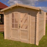 Optima 8 Solid Wood Garden Shed