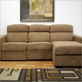 Baxton Studio Holcomb Reclining Sectional