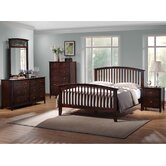 Baxton Studio Slat 5 Piece Bedroom Collection