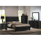 Baxton Studio Panel 5 Piece Bedroom Collection