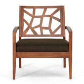 Baxton Studio Jennifer Twill Lounge Chair