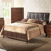 Baxton Studio Butler Panel Bed