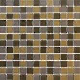 Cristezza Classic 11-3/4&quot; x 11-3/4&quot; Cristezza Classic Mosaic Glass Tile in Phaius