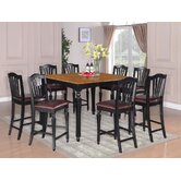 Chelsea 9 Piece Counter Height Dining Set