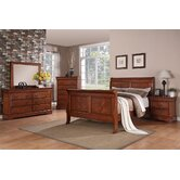Louie Philippe Sleigh Bedroom Collection
