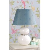 Keal Table Lamp with Lucille shade in White