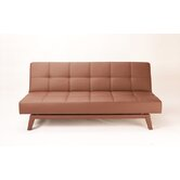 Napolitan 3-Position Convertible Futon Sofa