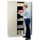 "1000 Series 36"" Wide Storage Cabinet:  78"" H x 36"" W x 21"" D"