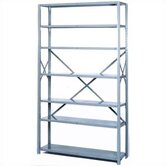 "8000 Series Open Shelving - 7 Shelves: 84"" H x 36"" W x 24"" D"