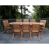 Milano Grand 9 Piece Dining Set