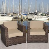 Aventura 2 Piece Deep Seating Group with Cushion