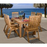 Amazonia Michigan 7 Piece Dining Set