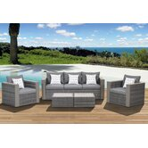 Atlantic Cameron 5 Piece Deep Seating Group with Cushion