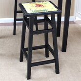 "30"" Sunflower Bar Stool in Distressed Antique Black"