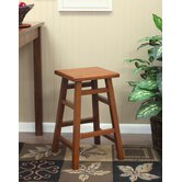 O'Malley Pub Counter Stool in Walnut