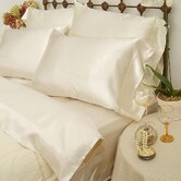 230 Thread Count Charmeuse II Satin Sheet Set in Bone