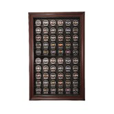 Sixty Puck Display Case in Mahogany