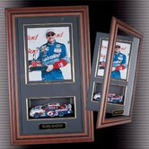 Scale Car and Photo Shadow Box Display