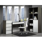 Allure Standard Desk Office Suite