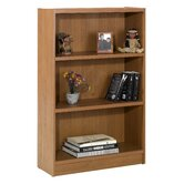 "Essentials 48"" X 31"" Tall Bookcase in Cappuccino"