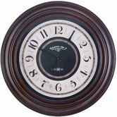Pearce Wall Clock in Mahogany