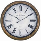 Henley Wall Clock in Toffee