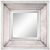 28&quot; x 28&quot; Garner Mirror in Distressed Silver