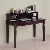 Elegant Writing Desk with Hutch