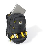 Camera Spectrum Recycled Backpack in Black